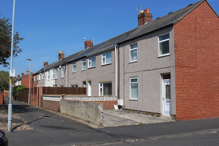 Houses in Ashington England
