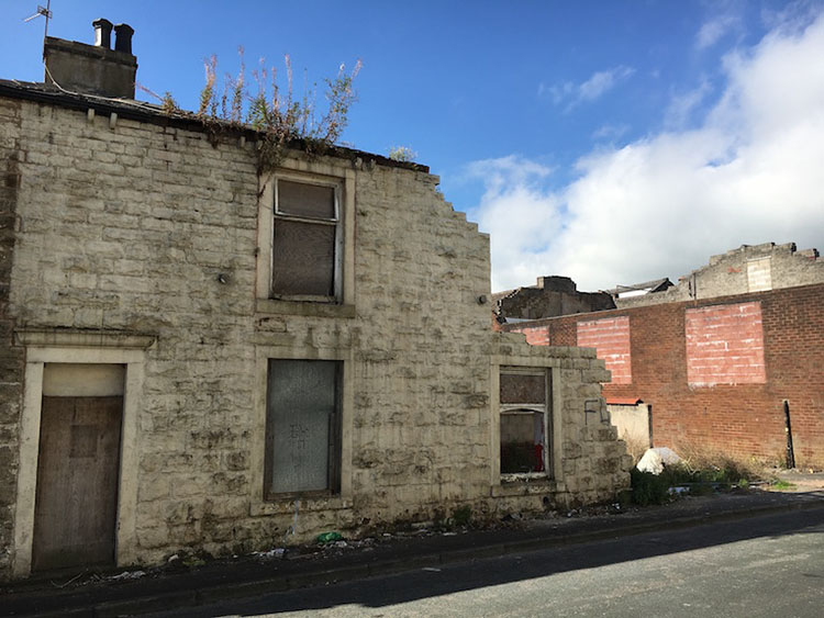 Poor condition house in Accrington