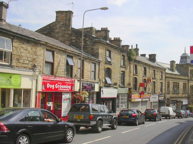 Shops in Padiham England