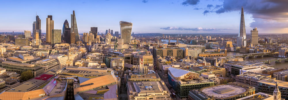 beautiful view of London city