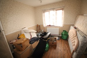 Bedroom needing house clearance Comber Northern Ireland